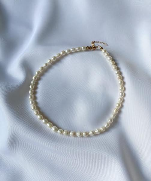 COLLAR CHOCKER PEARL